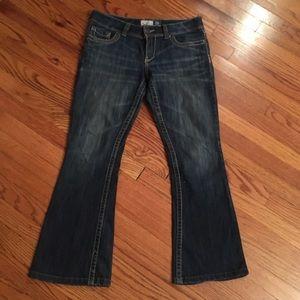 Aeropostale Hailey skinny flare jeans